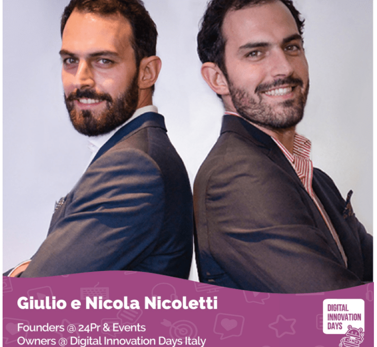 DIGITAL INNOVATION DAYS intervista ai F.LLI NICOLETTI