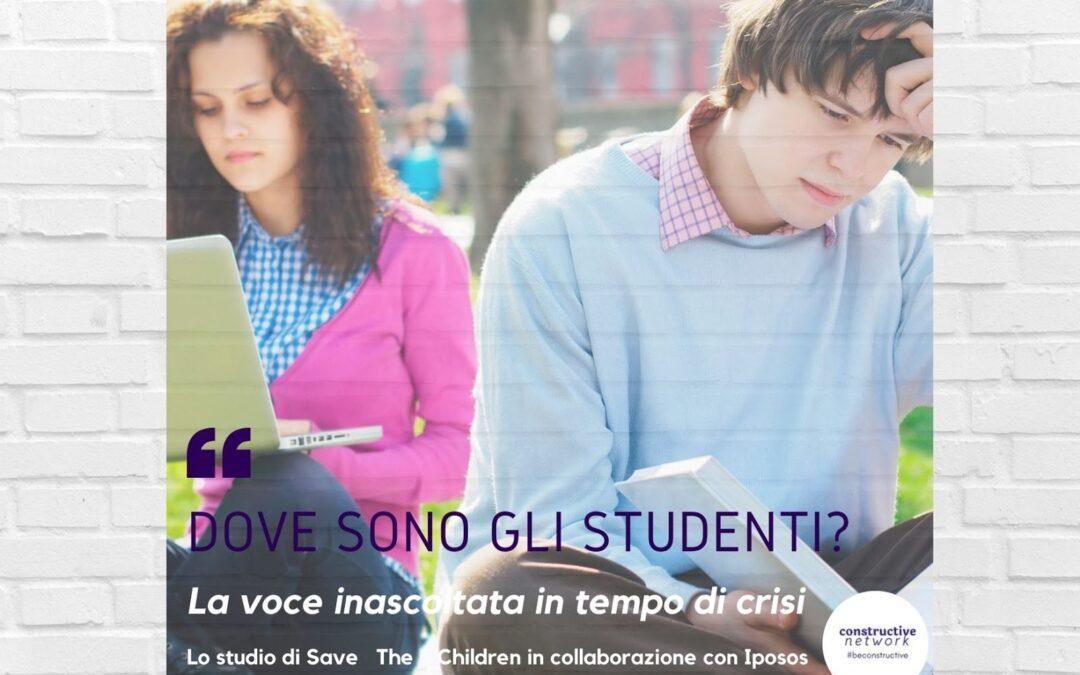 Dove sono gli studenti? La voce inascoltata in tempo di crisi